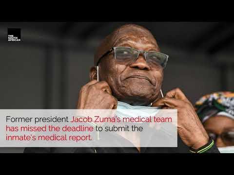 Jacob Zuma's medical team miss court deadline