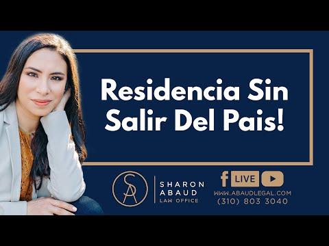 🔴 Residencia Sin Salir Del Pais!