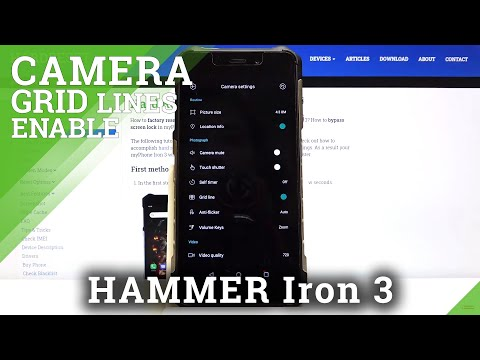 How to Activate Camera Gridlines in Hammer Iron 3 - Camera Features