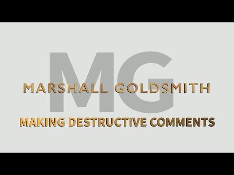 Making Destructive Comments