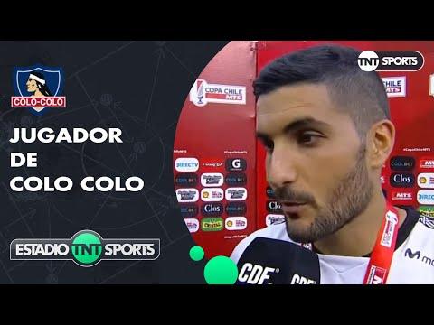 """Nicolás Blandi: """"Colo Colo es un equipo enorme"""""""