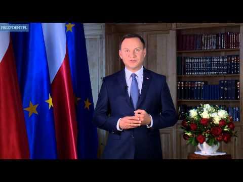 Orędzie Prezydenta Andrzeja Dudy ws. referendum