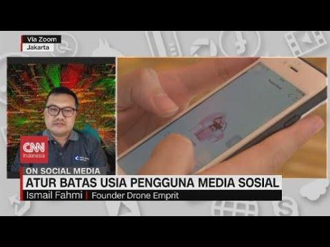 Atur Batas Usia Pengguna Media Sosial