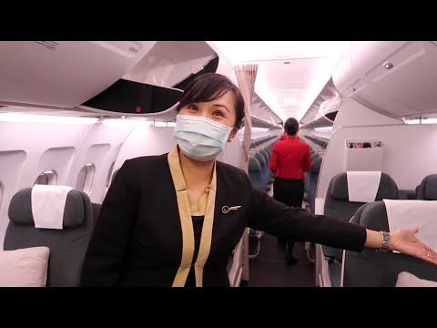 Flying Business Class during the pandemic with Cathay Dragon (Cambodia to Hong Kong)