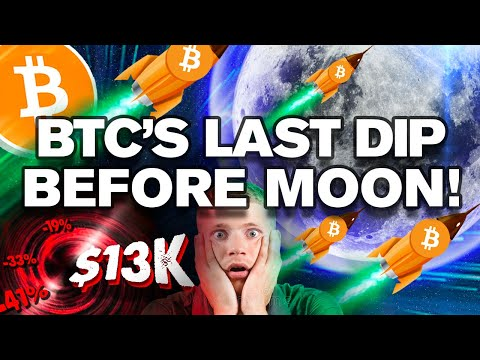 Unpopular Opinion: BTC to Retest $13k, Before MOON!