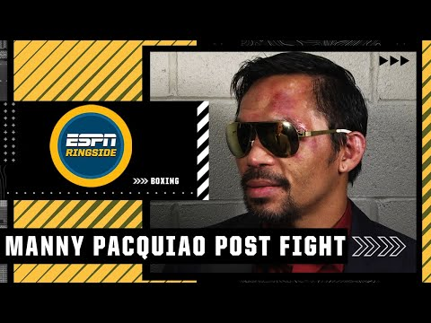 Manny Pacquiao: There's a 60/40 chance I retire after loss to Yordenis Ugas   ESPN Ringside