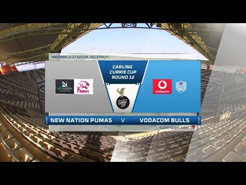 Currie Cup Premier Division   Round 12   New Nation Pumas v Vodacom Bulls   Highlights