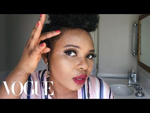 Yemi Alade's Performance-Ready Makeup Routine | Beauty Secrets | Vogue
