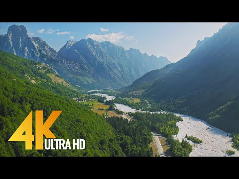 Discovering Albania - Scenic Nature from Earth and from Above - 4K Nature Film with Music