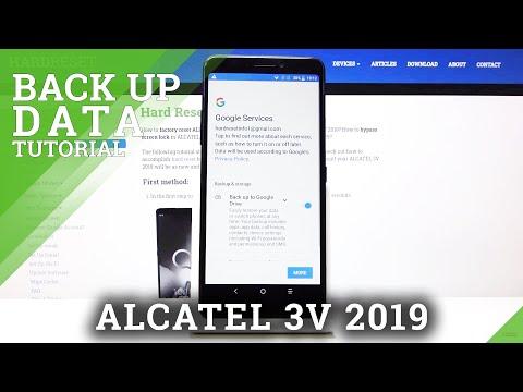 How to Enable Google Backup in ALCATEL 3V 2019 – Backup Data