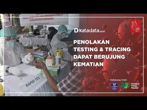 Penolakan Testing & Tracing Dapat Berujung Kematian | Katadata Indonesia