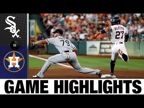 White Sox vs. Astros Game Highlights (6/17/21)   MLB Highlights
