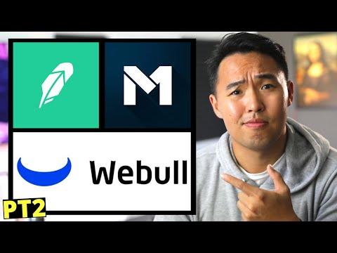 Robinhood vs M1 Finance Vs Webull 2020 Pt2