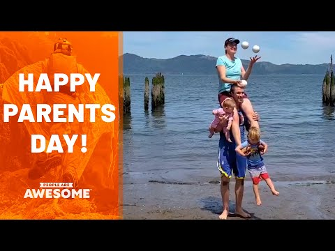 Awesome Families | National Parent's Day