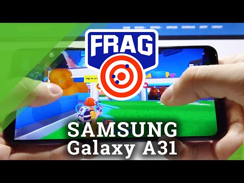 Gaming Quality Checkup on Samsung Galaxy A31 - FRAG Pro Shooter Gameplay