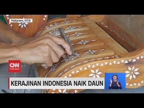 Kerajinan Indonesia Naik Daun