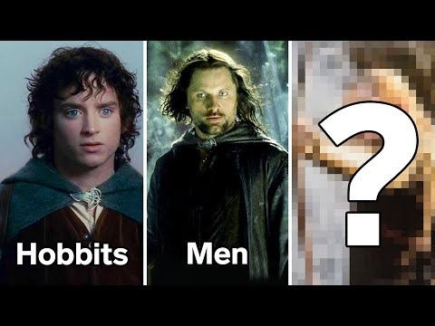 Every Race In Middle-Earth Explained   WIRED