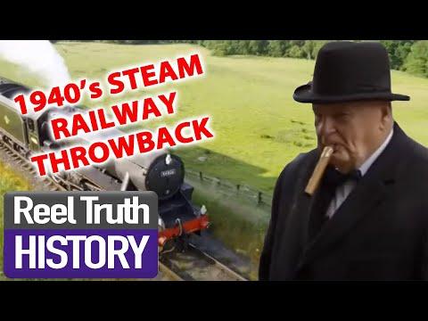 1940s STEAM RAILWAY | Yorkshire Steam Railway: All Aboard | Reel Truth History Documentaries