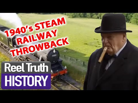 1940s STEAM RAILWAY | Yorkshire Steam Railway: All Aboard | Reel Truth History Documentaries