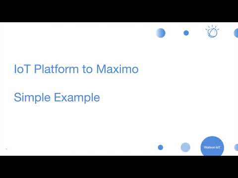 IoTP + Maximo | Internet of Everything