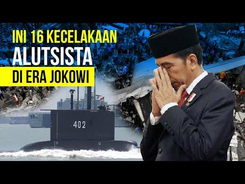 Selain Nanggala 402, Ini Daftar Kecelakaan Alutsista di Era Jokowi