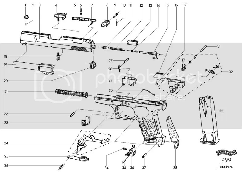 walther p99 manual product user guide instruction u2022 rh repairmanualonline today Walther P99 Clear Airsoft P99 Airsoft with Blowback
