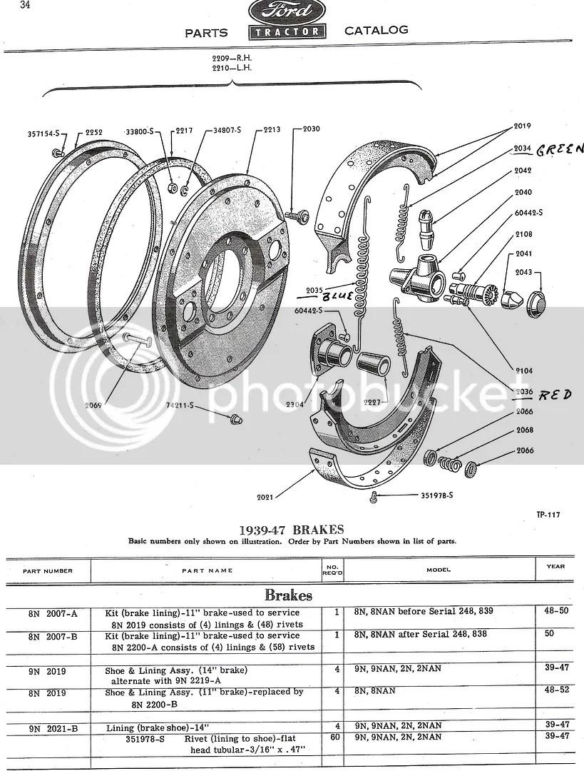 Ford 9n Brakes