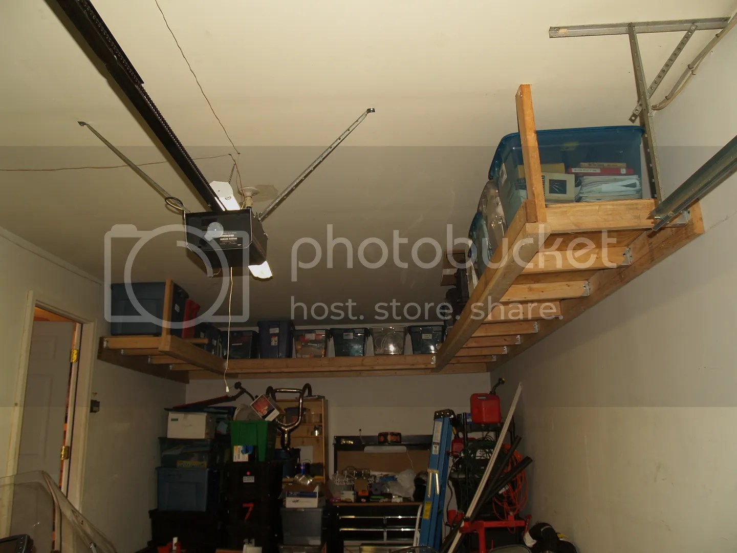 Build diy 2 4 garage shelves plans plans wooden kids desk for Rona garage plans
