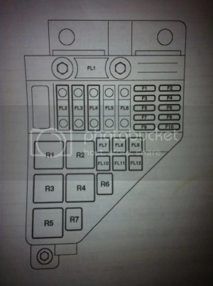 Fuse and relay diagram  MGRover Forums