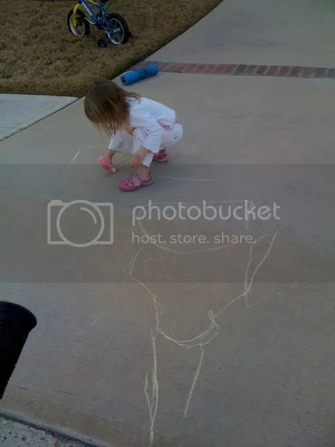 playing,chalk