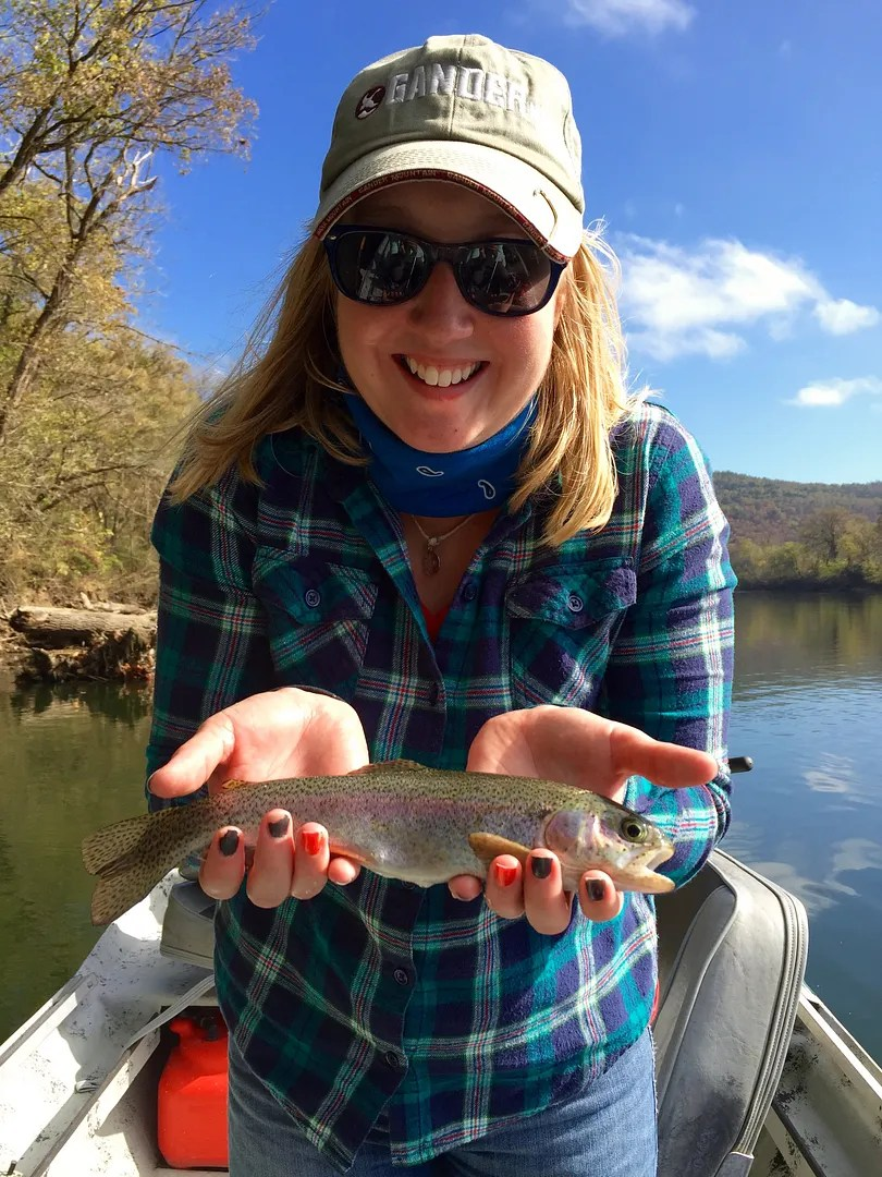 Dally s fly fishing report 11 5 15 the ozark fly for Ruby river fishing report