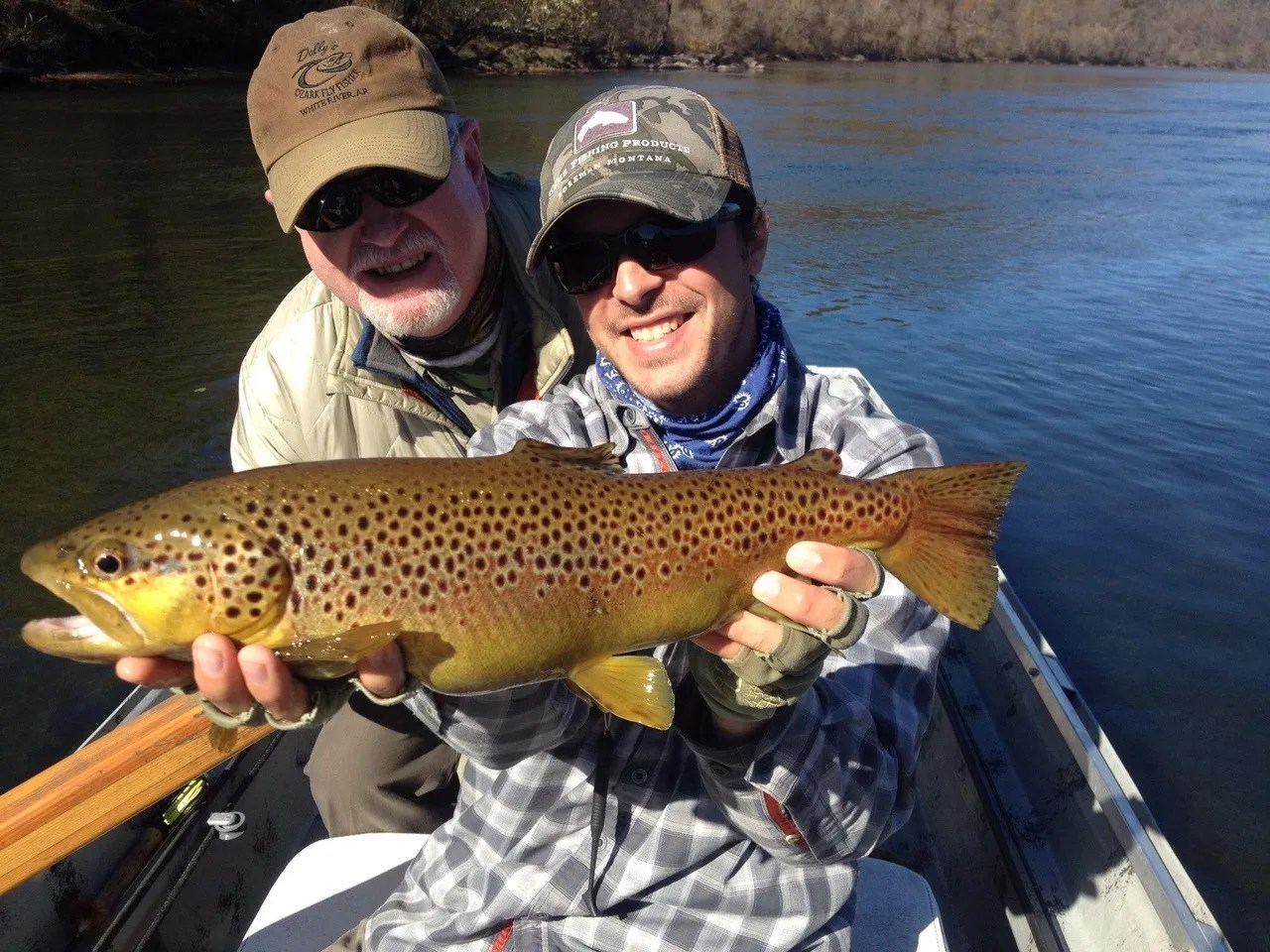 Dally s fly fishing report 11 13 15 the ozark fly for Ruby river fishing report