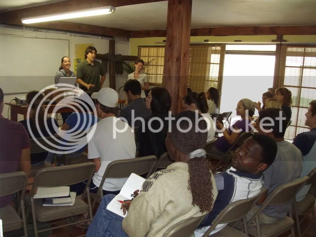 scott in class