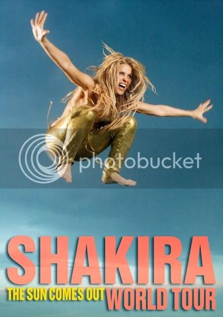 Shakira Tour Poster
