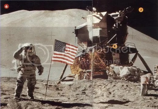 Did man really set foot on the moon WERE THE MOON