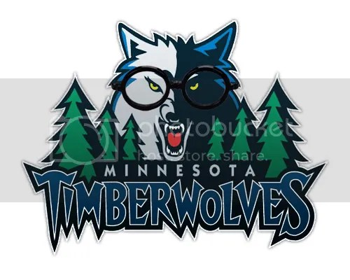 Rambis inspired Twolves logo found randomly on the net... love it.