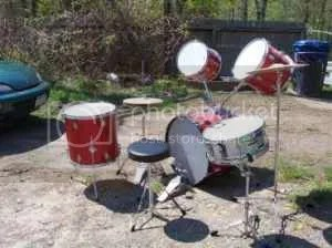 Drumset - Tom Angles