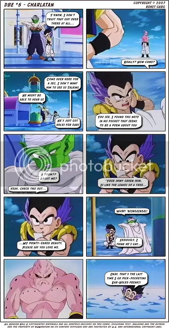 dbz dragonball funny comics episode 4