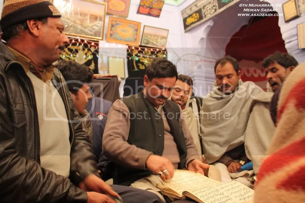 Sabir Raza and others reciting As-haabe jaan nisaar