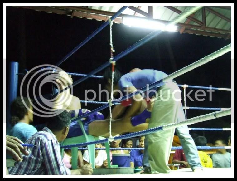 Thailand, Koh Tao, Thai Boxing