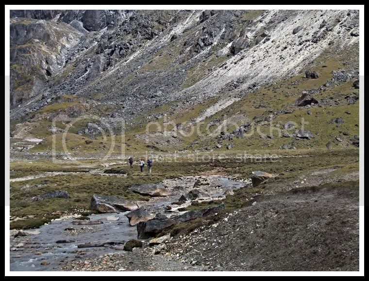 Nepal, Everest Base Camp Trek, Chola Pass