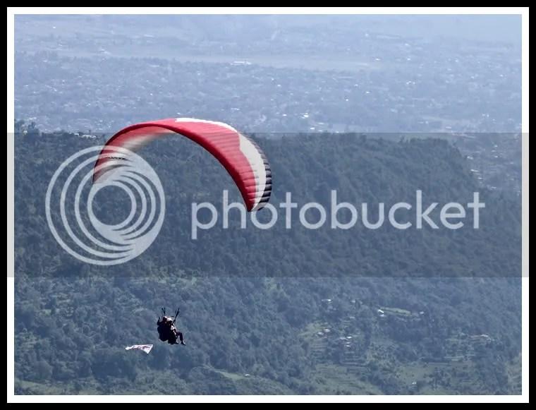 Nepal, Pokhara, Paragliding