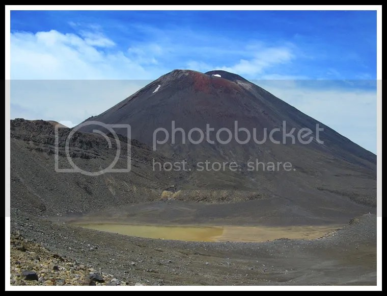 New Zealand - Tongariro Crossing, Mt. Doom, Mount Ngauruhoe