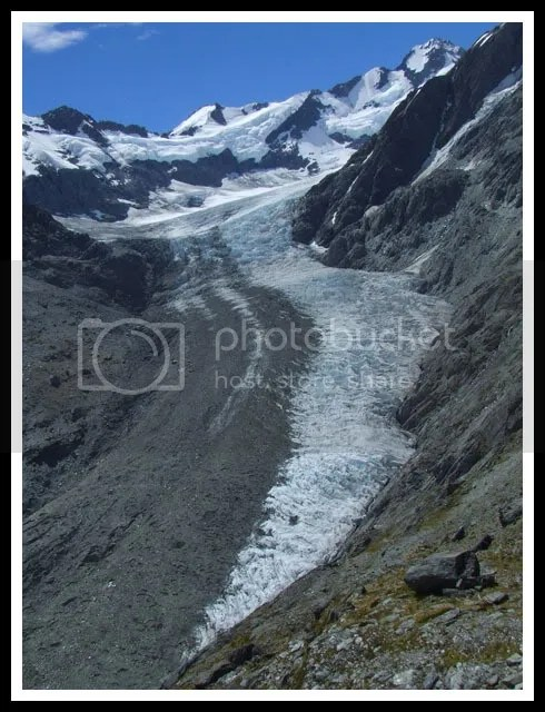 New Zealand - Dart Glacier