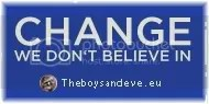 Change we dont believe in