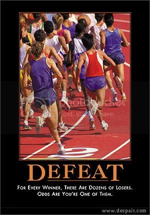 Defeat Motivational Poster Pictures, Images and Photos