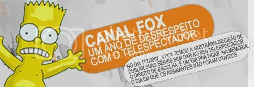 FOX- UM ANO!