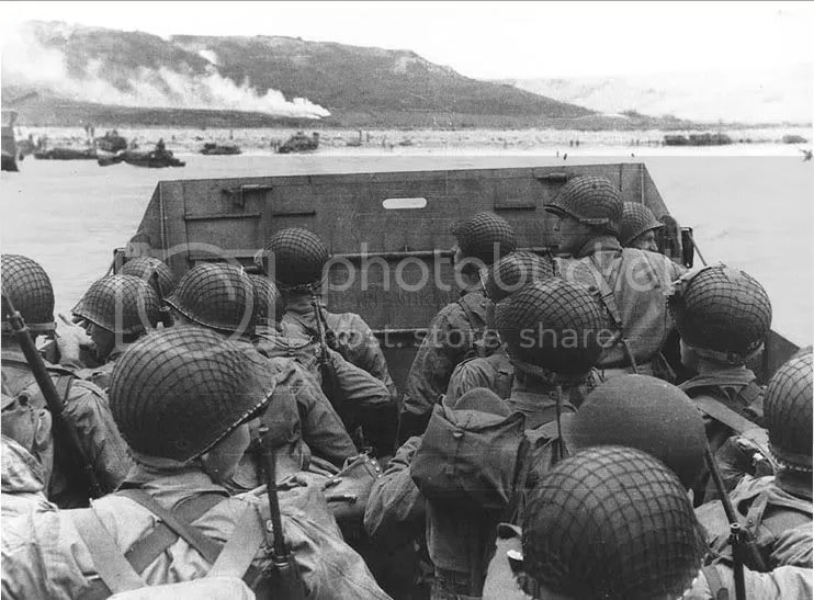 Seconds Before Impact  D Day June 6th 1944