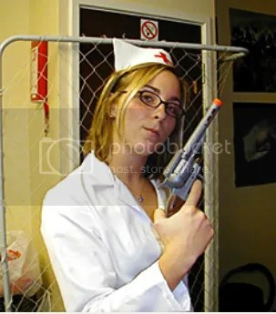 Nurses Use Guns To Remove Republicans From Voting Rolls