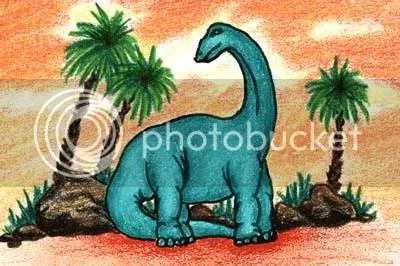 dinossauro animado